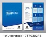 business brochure template....   Shutterstock .eps vector #757030246