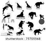 circus show | Shutterstock .eps vector #75705568