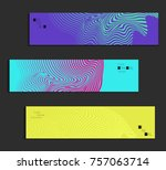 minimal banner templates with... | Shutterstock .eps vector #757063714