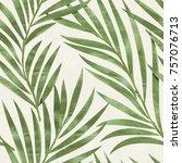 seamless floral pattern.... | Shutterstock . vector #757076713