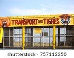 valras plage  herault  france   ... | Shutterstock . vector #757113250