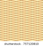 wicker background  seamless... | Shutterstock .eps vector #757120810