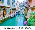 venice  italy   may 04  2017 ... | Shutterstock . vector #757135066