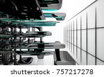 abstract dynamic interior with...   Shutterstock . vector #757217278