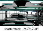 abstract dynamic interior with...   Shutterstock . vector #757217284