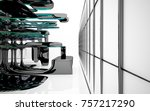 abstract dynamic interior with...   Shutterstock . vector #757217290