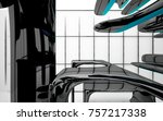 abstract dynamic interior with...   Shutterstock . vector #757217338