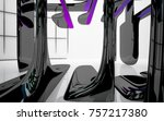 abstract dynamic interior with...   Shutterstock . vector #757217380