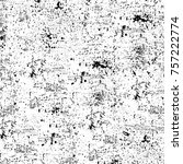 grunge texture cracks  chips ... | Shutterstock . vector #757222774