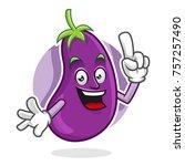 cartoon character of an... | Shutterstock .eps vector #757257490