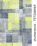 modern pattern for textile... | Shutterstock . vector #757268464