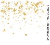 Gold Flying Stars Confetti...