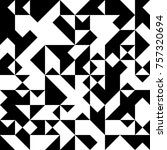 black and white  abstract... | Shutterstock .eps vector #757320694