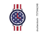 watches vector design with... | Shutterstock .eps vector #757346248