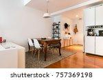 modern gourmet kitchen interior   Shutterstock . vector #757369198