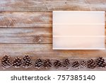 above view of lightbox on...   Shutterstock . vector #757385140
