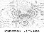 abstract vector background dot... | Shutterstock .eps vector #757421356