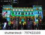sydney  australia.   on may 27  ... | Shutterstock . vector #757422103
