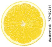 Lemon Slice  Clipping Path ...