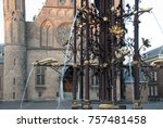 binnenhof palace  place of... | Shutterstock . vector #757481458