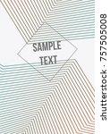 minimum geometric coverage.... | Shutterstock .eps vector #757505008