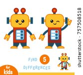 find differences  education... | Shutterstock .eps vector #757508518