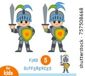 find differences  education... | Shutterstock .eps vector #757508668