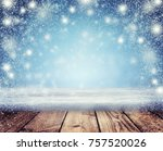 christmas holiday background ... | Shutterstock . vector #757520026