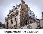 traditional architecture of... | Shutterstock . vector #757531054