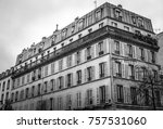 traditional architecture of... | Shutterstock . vector #757531060