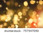 christmas and happy new year on ... | Shutterstock . vector #757547050