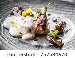 food dish dinner elegant | Shutterstock . vector #757584673