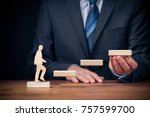 personal development  personal... | Shutterstock . vector #757599700