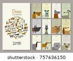Funny Dogs  Calendar 2018 Design