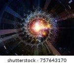 central design series. design... | Shutterstock . vector #757643170