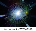 central design series. backdrop ... | Shutterstock . vector #757643188
