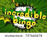 incredible bingo   comic book...