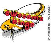 awesome bingo   comic book...