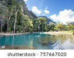 vang vieng  laos november 10 ... | Shutterstock . vector #757667020