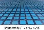 pattern on footpath   Shutterstock . vector #757677646