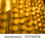 orange and yellow background of ... | Shutterstock . vector #757744978