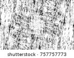 grunge black and white seamless ... | Shutterstock . vector #757757773