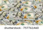 American Dollars On White...