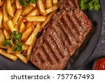 Beef Barbecue Steak With French ...