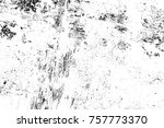 grunge black and white seamless ... | Shutterstock . vector #757773370