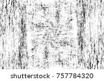 grunge black and white seamless ... | Shutterstock . vector #757784320