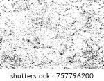 grunge black and white seamless ... | Shutterstock . vector #757796200