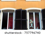 architecture of residential... | Shutterstock . vector #757796740