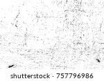 grunge black and white seamless ... | Shutterstock . vector #757796986