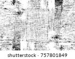 grunge black and white seamless ... | Shutterstock . vector #757801849